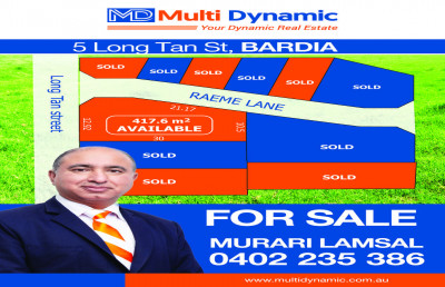 Land in Bardia : Registered and ready to Build